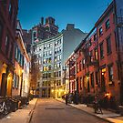 Dusk Blue Hour - New York City by Vivienne Gucwa