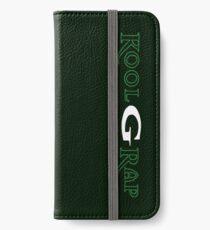 Kool G Rap 4, 5, 6 Logo 2 iPhone Wallet/Case/Skin