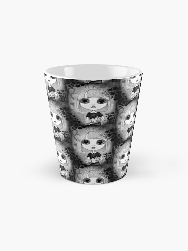 Alternate view of Number One Fan (Black & White Version) Mug