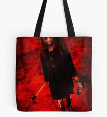 Seeing Red....The Rules of Engagement Tote Bag