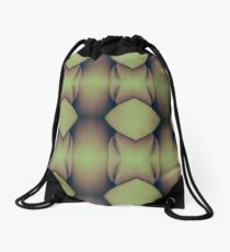 Golden Caverns Drawstring Bag