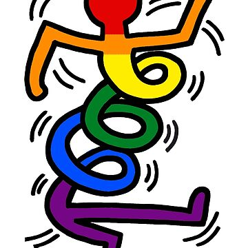 Keith Haring Gay Spring von Freshfroot