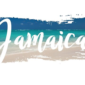 Jamaica, Beach Background  by identiti