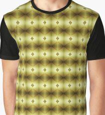 Wet Look Graphic T-Shirt