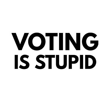 VOTING IS STUPID by phys