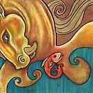 Water Horse II by Lynnette Shelley