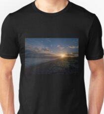 Sunrise on a Pebble Beach Unisex T-Shirt