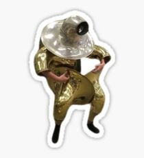 Tuba Man Sticker