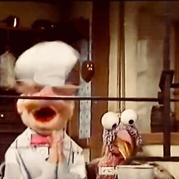 The Swedish Chef and a Turkey by Jenniferkate72