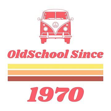 Old School Since 1970 by evlar
