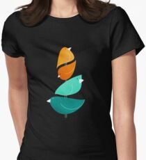 Bird Stack II Women's Fitted T-Shirt