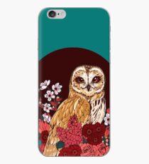 Owl Floral Eclipse iPhone Case