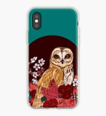 Owl Floral Eclipse iPhone Case