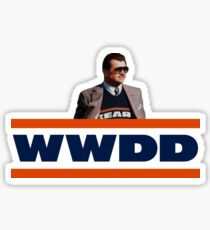 What Would Ditka Do? Sticker