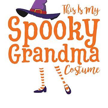 Halloween Grandma Shirt, Halloween Grandma T-shirts, Grandma Halloween Shirt, Grandma Halloween T Shirt, Grandma Halloween Costume by mikevdv2001