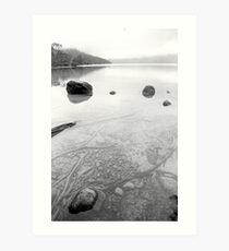 sleeping waters Art Print
