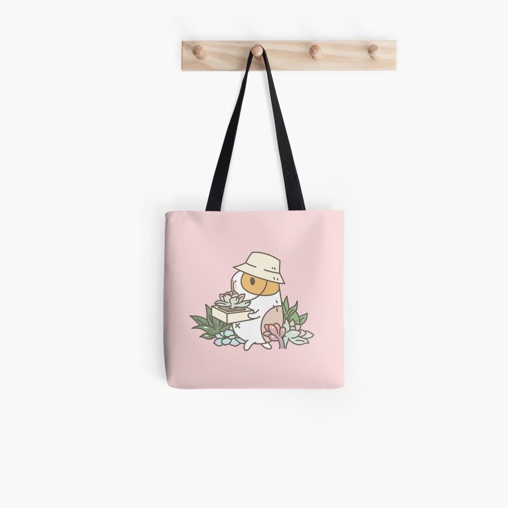 Bubu the Guinea Pig, Succulent Love Tote Bag