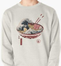 The Great Ramen Wave 69 Pullover Sweatshirt