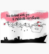 A rubbish christmas Poster