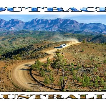 Outback Tour (poster edition on white) by RayW