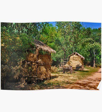 Rural Cambodia Poster