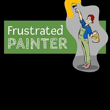 Frustrated Painter by DogBoo
