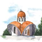 CANBERRA CHURCHES - St Kliments Macedonian Orthodox Church, Narrabundah by Michelle Collier
