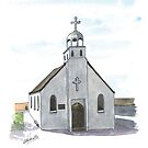 CANBERRA CHURCHES - St George's Free Serbian Orthodox, Forrest by Michelle Collier