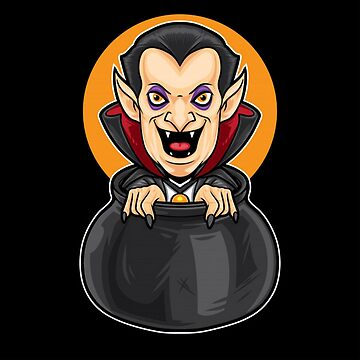 Grinning Dracula by pugmom4