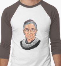 Supreme Court Justice Ruth Bader Ginsburg Men's Baseball ¾ T-Shirt