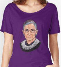 Supreme Court Justice Ruth Bader Ginsburg Women's Relaxed Fit T-Shirt