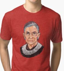 Supreme Court Justice Ruth Bader Ginsburg Tri-blend T-Shirt