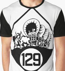 Nebraska State Highway N-129 (1926) | United States Highway Shield Sign Sticker Graphic T-Shirt