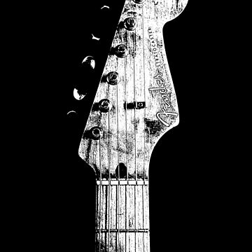 Old fender stratocaster headstock-50s-Rock,Blues,Metal-Music by carlosafmarques