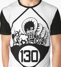 Nebraska State Highway N-130 (1926) | United States Highway Shield Sign Sticker Graphic T-Shirt