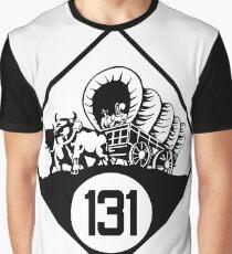 Nebraska State Highway N-131 (1926) | United States Highway Shield Sign Sticker Graphic T-Shirt