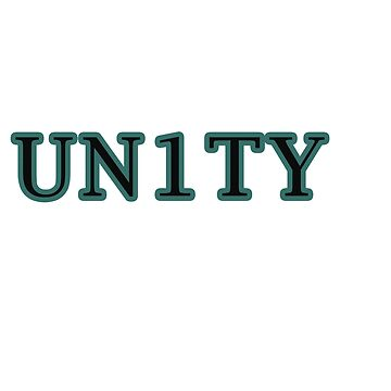 Cool & Awesome Unity Tshirt Design Unity by Customdesign200