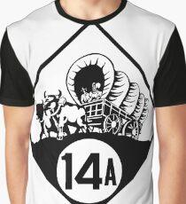 Nebraska State Highway N-14A (1926) | United States Highway Shield Sign Sticker Graphic T-Shirt