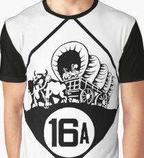 Nebraska State Highway N-16A (1926) | United States Highway Shield Sign Sticker Graphic T-Shirt