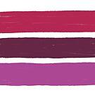 Stripes Lipstick No.02 by Wendy Tyrer