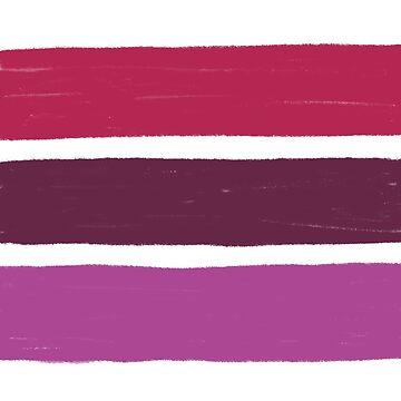 Stripes Lipstick No.02 by Fefferoni