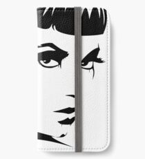 Black Ink Portrait #4 (Cleopatra) iPhone Wallet/Case/Skin