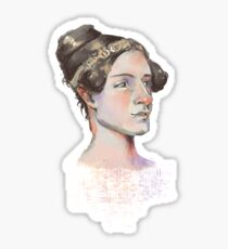 Ada Lovelace - The First Computer Programmer Sticker