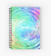 Look Into the Portal Spiral Notebook