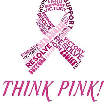 Funny hope pink ribbon shirt breast cancer awareness t-shirt  #Breast Cancer Awareness by mirabhd