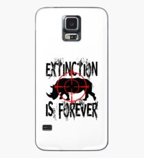 EXTINCTION IS FOREVER Case/Skin for Samsung Galaxy