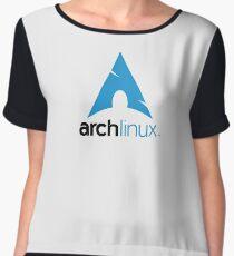 arch linux Chiffon Top