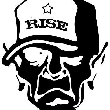 Rise - Skull Design by lemmy666