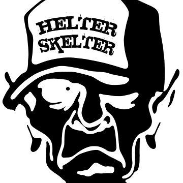 Rebel - Skull Design by lemmy666