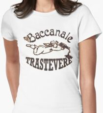 Baccanale Trastevere Womens Fitted T-Shirt